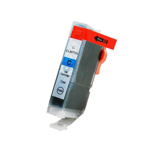 Compatible Canon CLI671XL Cyan Ink Cartridge