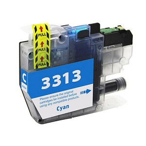Compatible Brother LC3313 Cyan Ink Cartridge