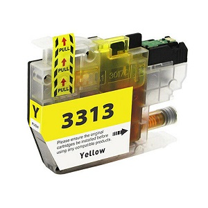 Compatible Brother LC3311 (LC3313) Yellow Ink Cartridge