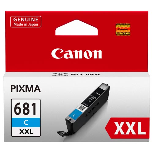 Genuine Canon CLI681XXL Cyan Ink Cartridge