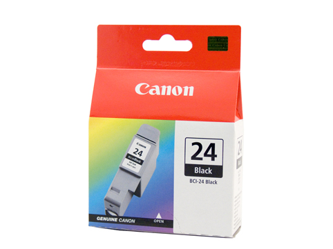 Genuine Canon BCI24 Black Ink Tank