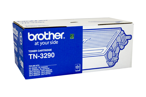 Genuine Brother TN3290 Black laser toner cartridge