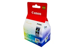 Genuine Canon CL38 (Colour) ink cartridge
