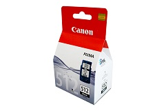 Genuine Canon PG512 Black ink cartridge