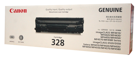 Genuine Canon CART 328 Black toner cartridge