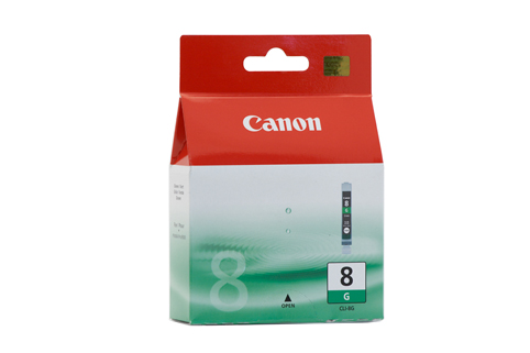Genuine Canon CLI-8G (Green) ink cartridge