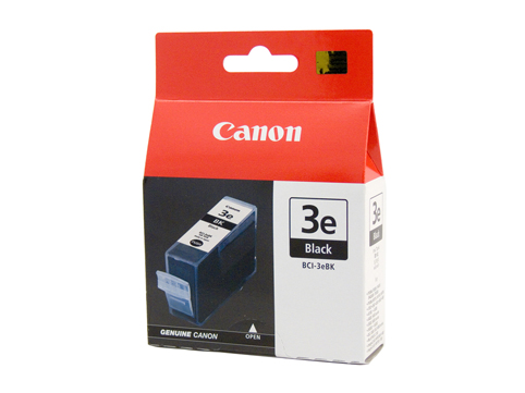 Genuine Canon BCI-3eBK (Black) ink cartridge