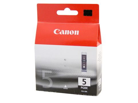 Genuine Canon PGI-5BK (Black) ink cartridge