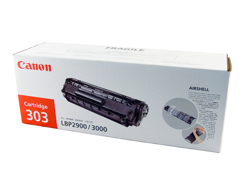 Genuine Canon CART303 Black Toner cartridge