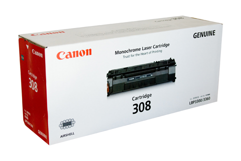 Genuine Canon CART308 Black Toner cartridge