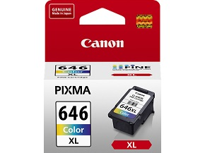 Genuine Canon CL646XL Colour ink cartridge