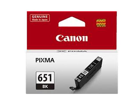 Genuine Canon CLI651 Black ink cartridge