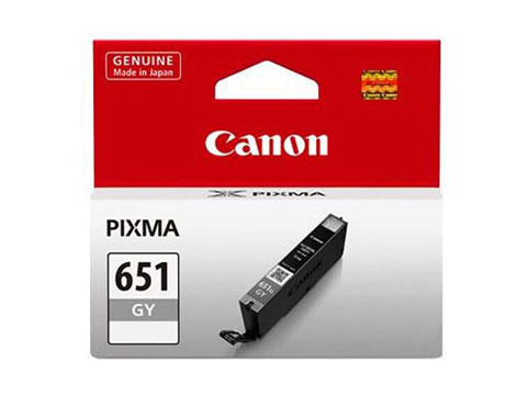 Genuine Canon CLI651 Grey ink cartridge