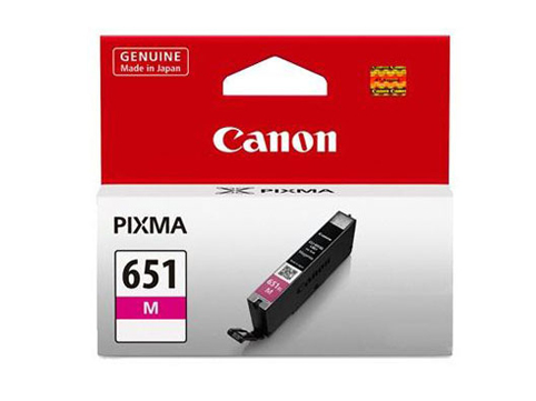 Genuine Canon CLI651 Magenta ink cartridge