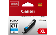 Genuine Canon CLI671XL Cyan Ink Cartridge