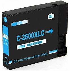 Compatible Canon PGI-2600XL Cyan Ink Cartridge