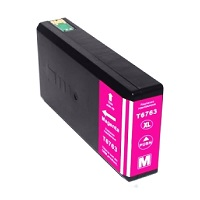 Compatible Epson 676XL Magenta ink cartridge