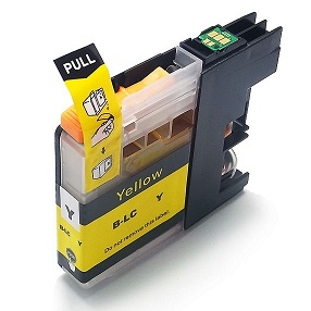 Compatible Brother LC233Y (Yellow) ink cartridge