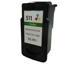 Remanufactured Canon CL511 XL Colour ink cartridge