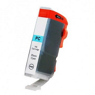 Compatible Canon CLI-8PC (Photo Cyan) ink cartridge