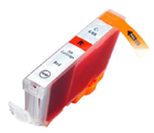 Compatible Canon CLI-8R (Red) ink cartridge
