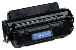 Remanufactured Canon EP32 Black toner cartridge (C4096A)