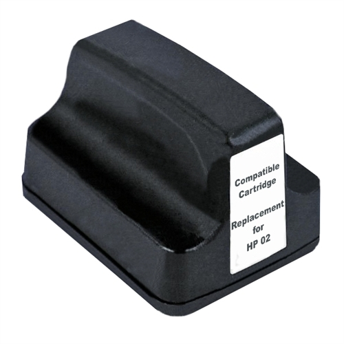 Compatible HP02 Black ink cartridge