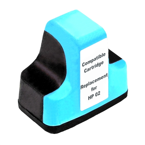 Compatible HP02 Light Cyan ink cartridge