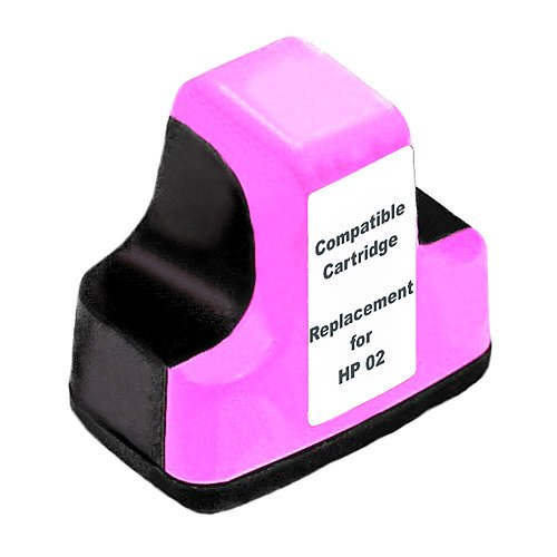 Compatible HP02 Light Magenta ink cartridge