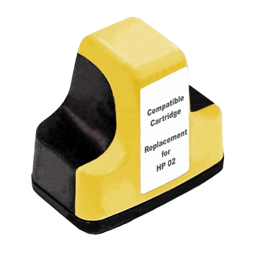Compatible HP02 Yellow ink cartridge