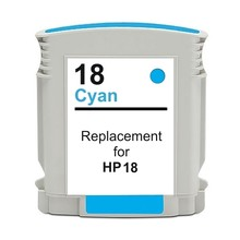 Compatible HP18 Cyan ink cartridge