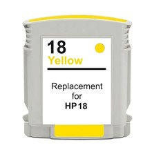 Compatible HP18 Yellow ink cartridge