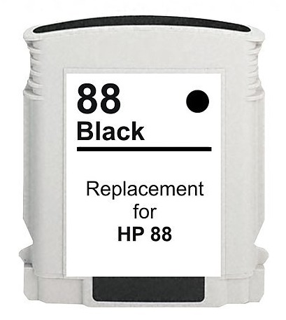 Compatible HP88XL Black ink cartridge