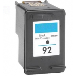 Remanufactured HP92 Black ink cartridge (C9362WA)