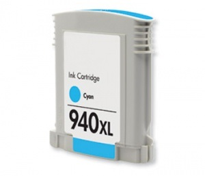 Compatible HP940XL Cyan ink cartridge (C4907AA)