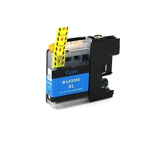 Compatible Brother LC235XL Cyan ink cartridge