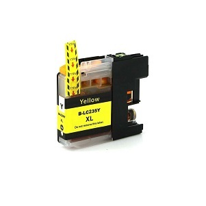 Compatible Brother LC235XL Yellow ink cartridge