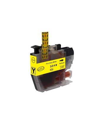 Compatible Brother LC3317XL (LC3319XL) Yellow Ink Cartridge