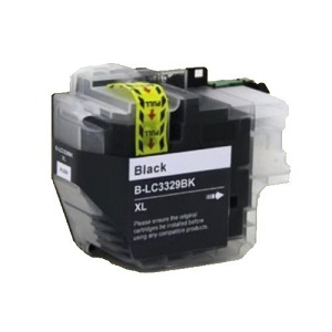 Compatible Brother LC3329XL Black Ink Cartridge