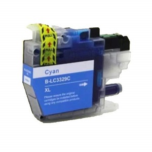 Compatible Brother LC3329XL Cyan Ink Cartridge