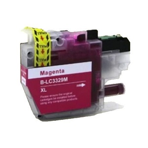 Compatible Brother LC3329XL Magenta Ink Cartridge