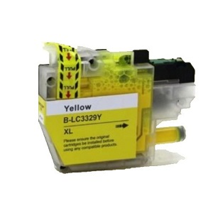 Compatible Brother LC3329XL Yellow Ink Cartridge