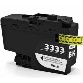 Compatible Brother LC3333BK (Black) ink cartridge
