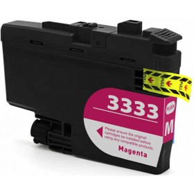 Compatible Brother LC3333M (Magenta) ink cartridge