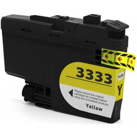 Compatible Brother LC3333Y (Yellow) ink cartridge