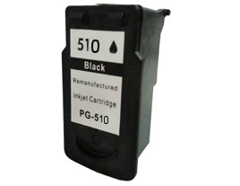 Remanufactured Canon PG510 XL Black ink cartridge