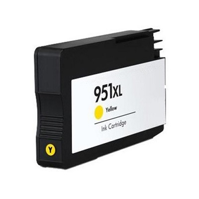 Compatible HP951XL Yellow ink cartridge