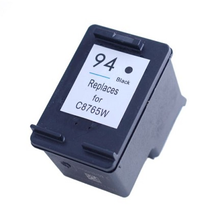 Remanufactured HP94 Black ink cartridge (C8765WA)
