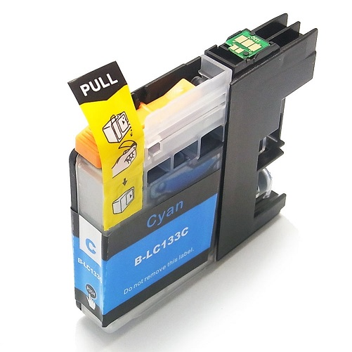 Compatible Brother LC131XL (LC133) Cyan ink cartridge