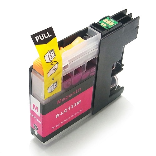 Compatible Brother LC131XL (LC133) Magenta ink cartridge